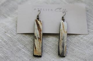 Baguette Earrings by Atelier Calla