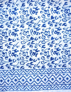 Abstract Blue Sarong - Passion Lilie - Fair Trade - Ethically Made Cotton ?id=12831224196