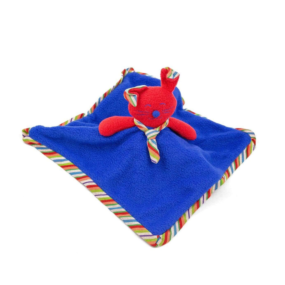 Fair Trade Bunny Snuggle Blanket - Red ?id=14022002769973