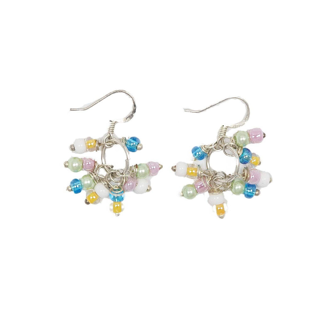 Bead Bundle Earrings