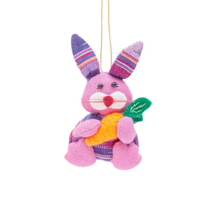 Bunny with Carrot Ornament