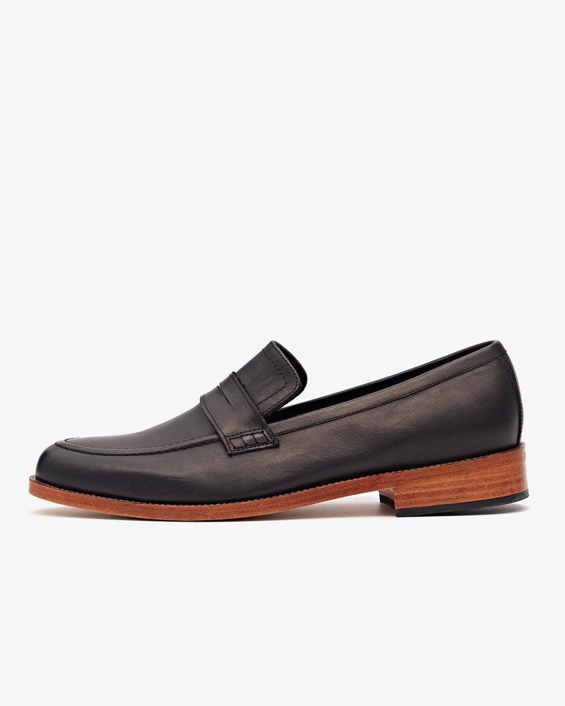 Chamberlain Penny Loafer Black