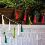 Christmas Tassel Garlands