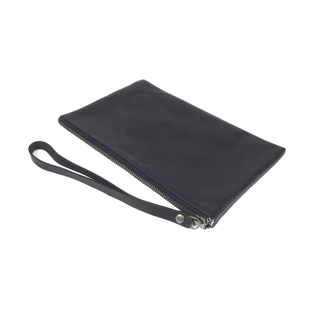 LEATHER CLUTCH | BLACK