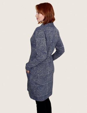Mila Long Organic Fleece Coat