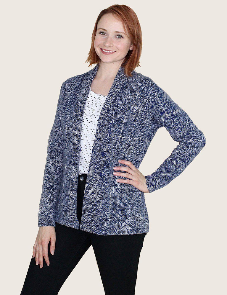 Mila Short Organic Fleece Blazer