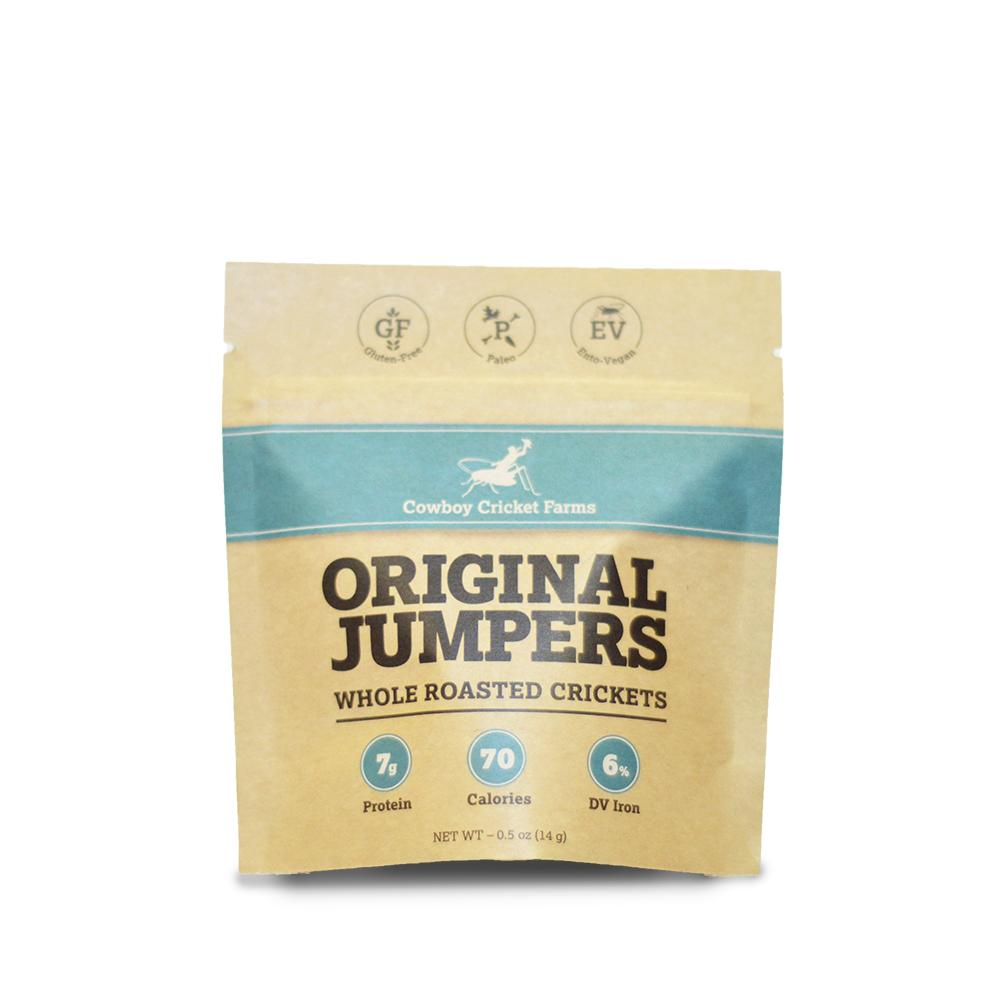Original Jumpers - Whole Roasted Crickets