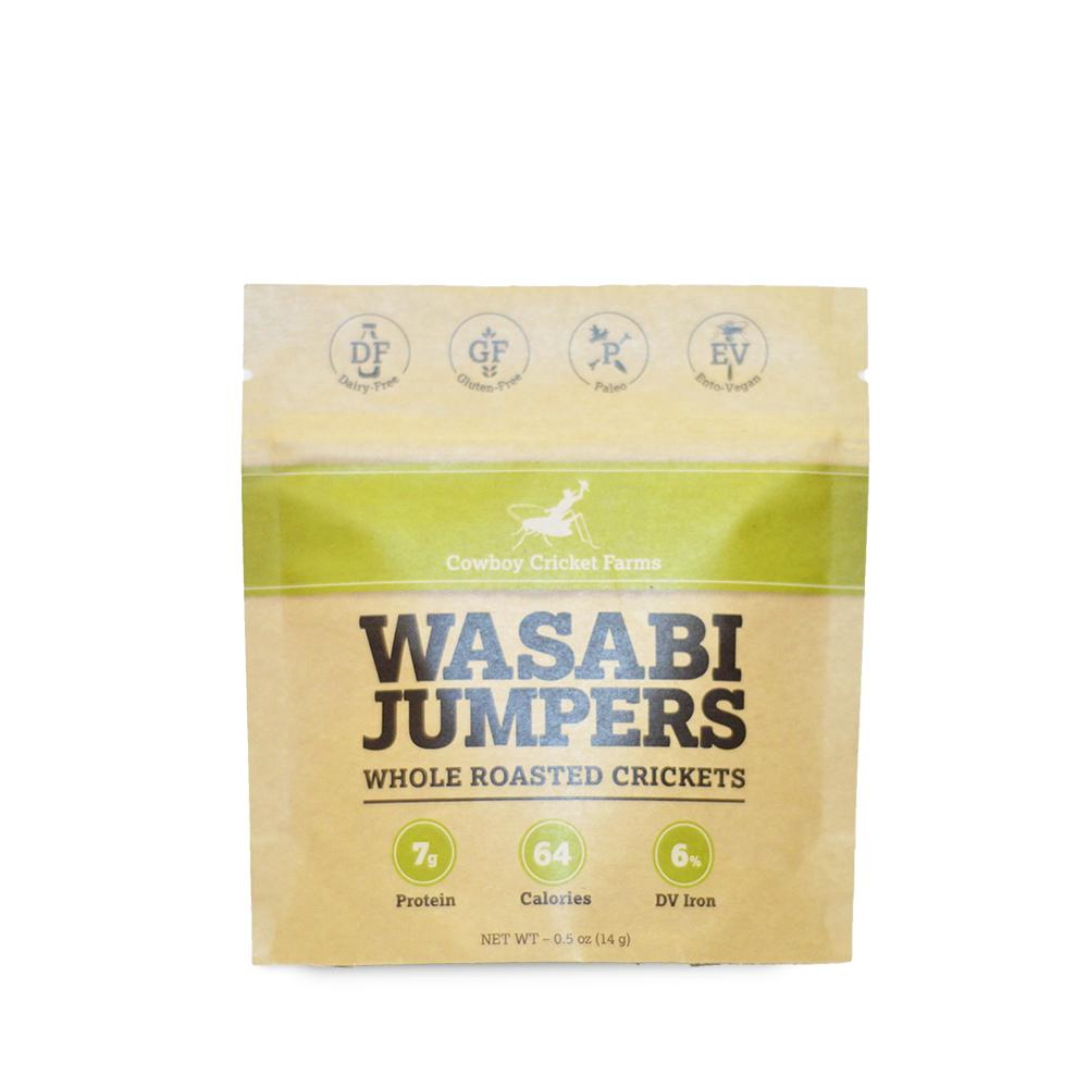 Wasabi Jumpers - Whole Roasted Crickets
