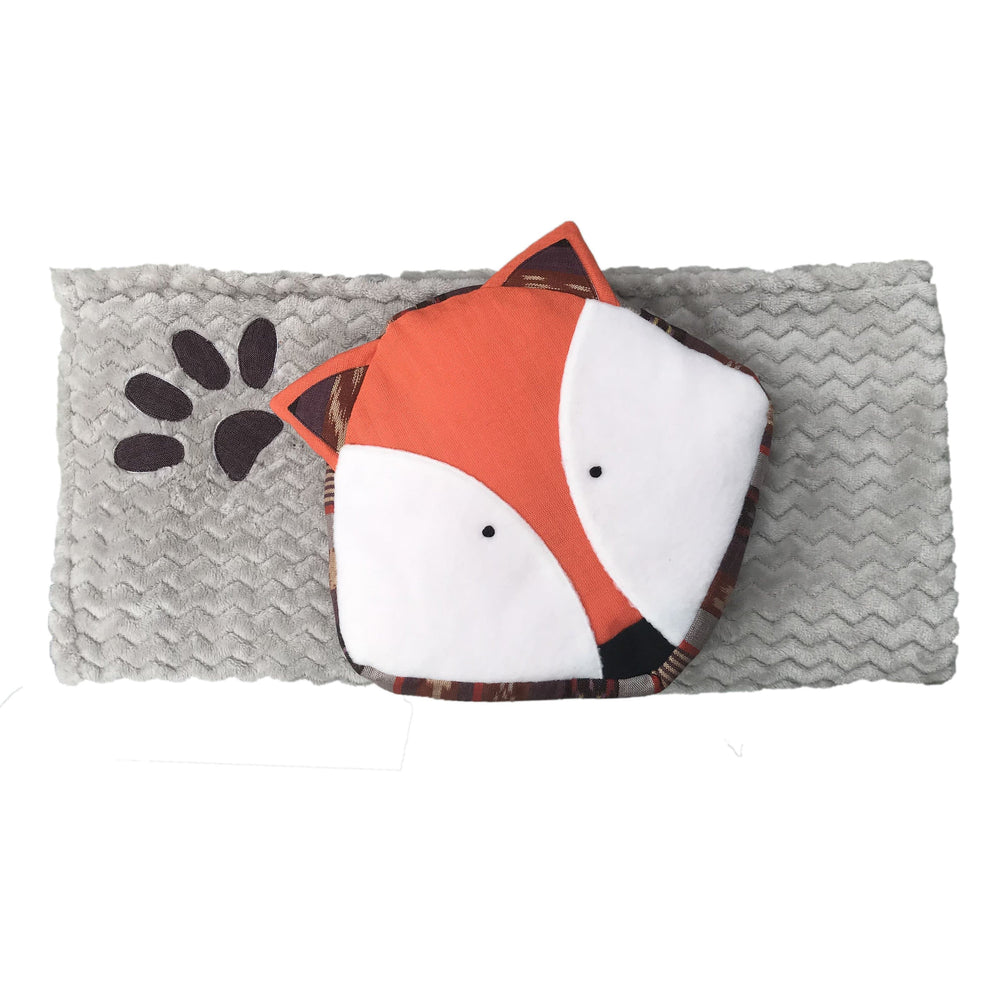 Fox Blanket with Pillow