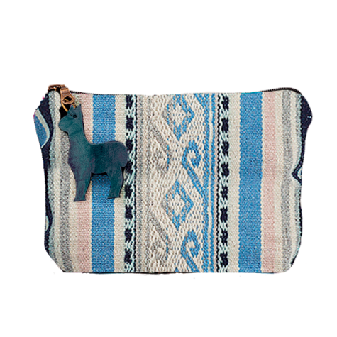 Makeup Pouch in Northern Wave