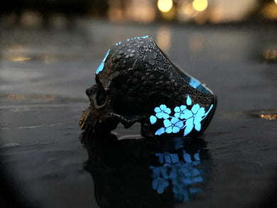 Badger Blossom SkullRing Limited Edition