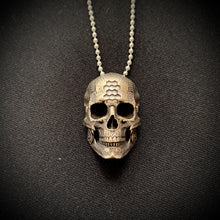 Load image into Gallery viewer, BronzeTechSkull.1 Pendant