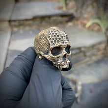 Load image into Gallery viewer, Bronze TechSkull.4 Ring