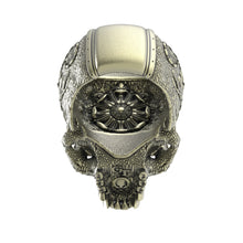 Load image into Gallery viewer, Bronze Ornamental SkullRing1