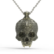 Load image into Gallery viewer, Bronze TechSkull.4 Pendant