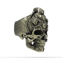 Load image into Gallery viewer, Bronze TechSkull.5