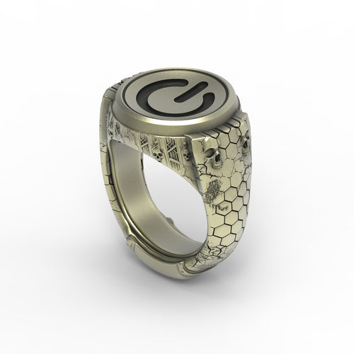 Bronze Power Signet Ring