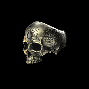 Bronze TechSkull.2 Ring