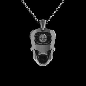 TechSkull.3 Pendant Sterling
