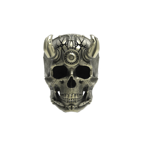 Bronze Techskull.3 Ring