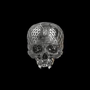 TechSkull.4 Ring Silver