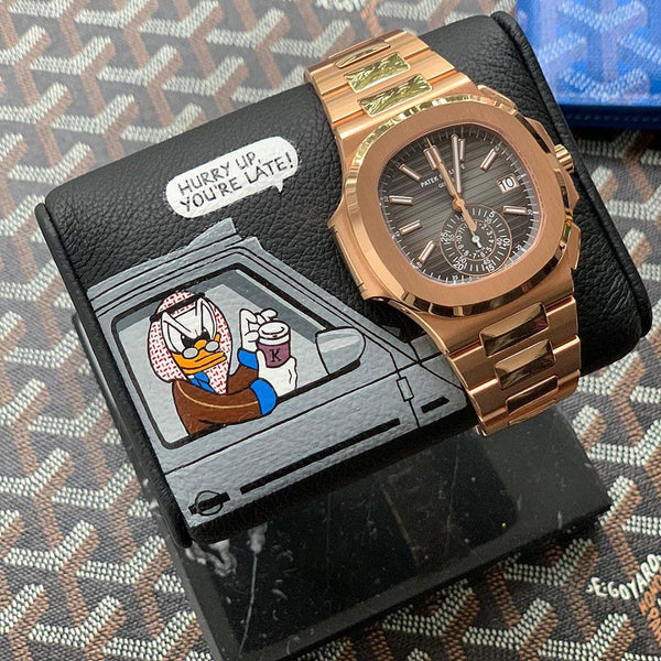 TWS x MG - Scrooge McShaikh 2 - The Watch Stand