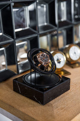 Watch Winder - One Planet Double Axis - Black