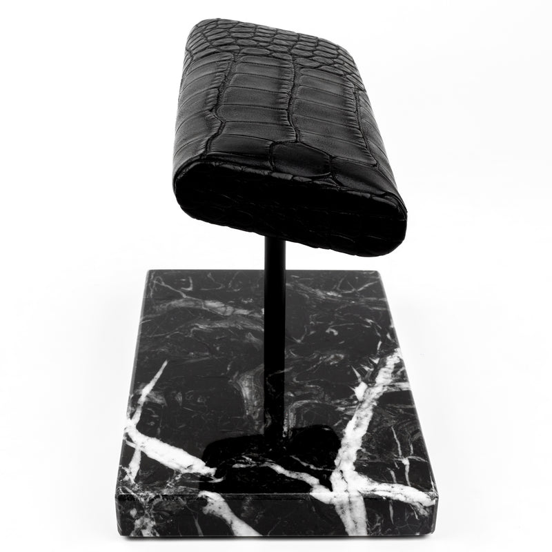 The Watch Stand Duo - Black - Alligator
