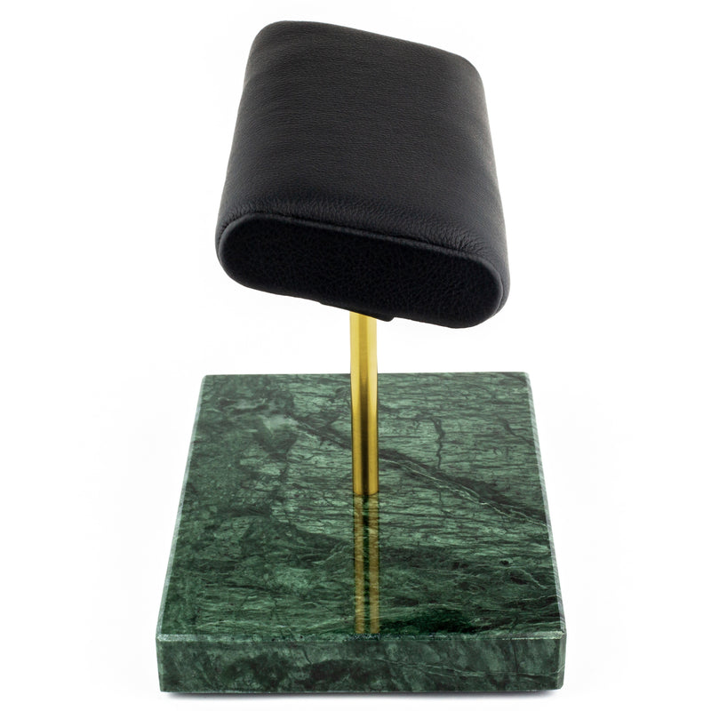 The Watch Stand Duo - Green & Gold