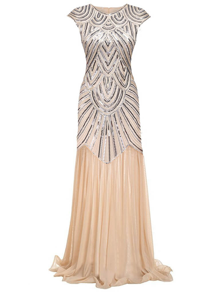 1920ER VINTAGE PAILLETTEN PARTY ABENDKLEID