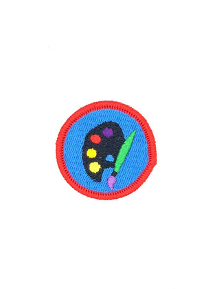 Plein Air Painter Merit Patch