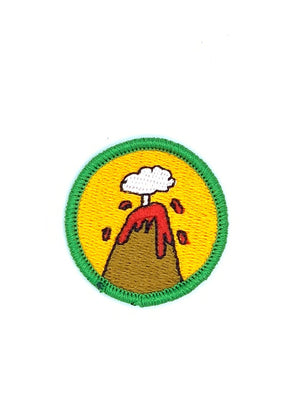 Volcano Creator Merit Patch