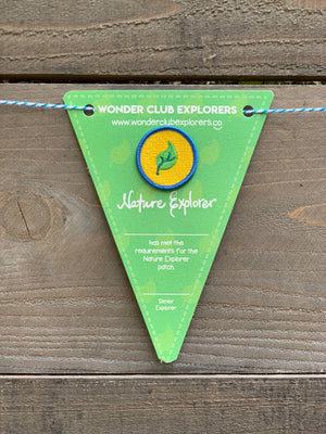 Nature Explorer Merit Patch & Pennant