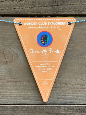 Plein Air Painter Pennant