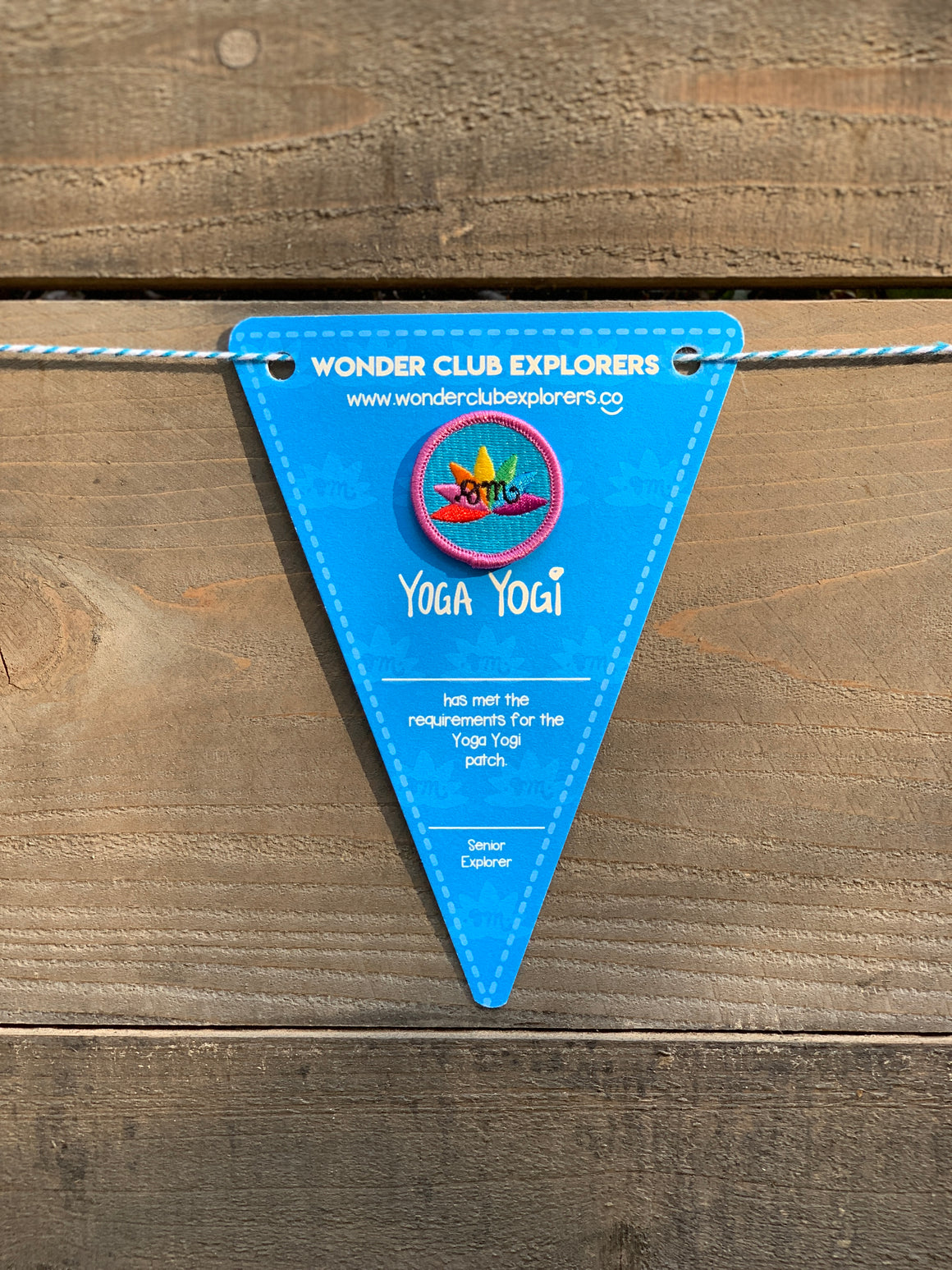 Yoga Yogi Merit Patch & Pennant
