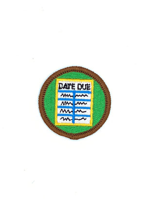 Library Scout Merit Patch