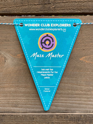 Maze Master Pennant