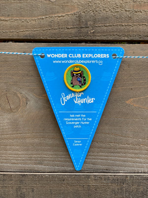 Scavenger Hunter Merit Patch & Pennant