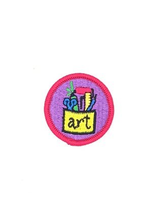 Process Artist Merit Patch