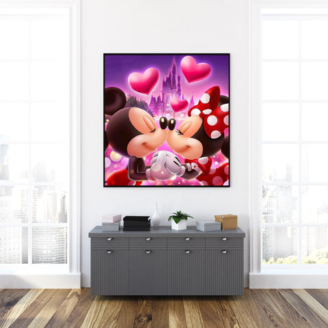 Image of Mickey et Minnie - Kit de Broderie Diamant