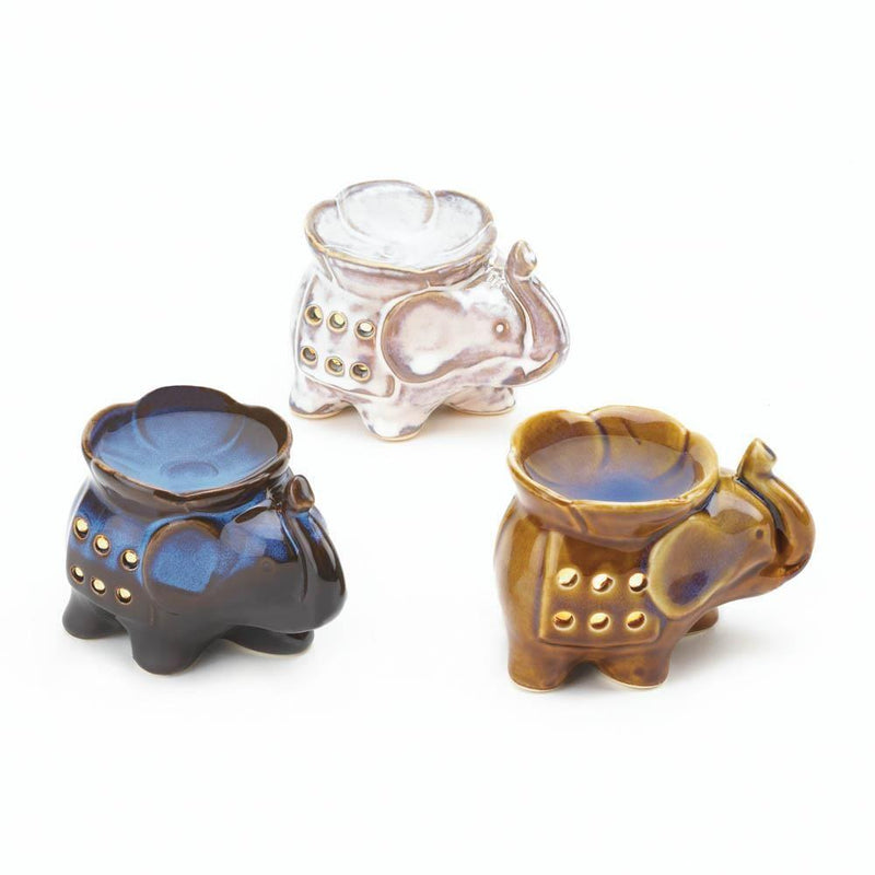 Elephant Oil Warmer Trio