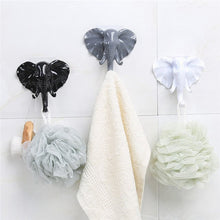 11CM Strong Sticky Elephant Head Storage Hanger