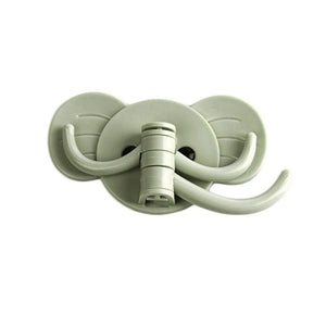 Elephant Stick On Wall Adhesive Hooks Self