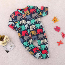 Elephant Print Pajamas for Babies