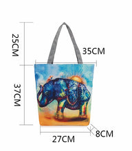 Summer Elephant Beach Bag