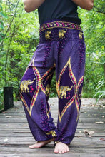 PEACOCK ELEPHANT Pants Women Boho Pants Hippie