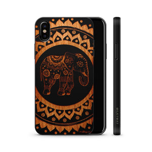 Hindu Elephant Wooden Phone Case