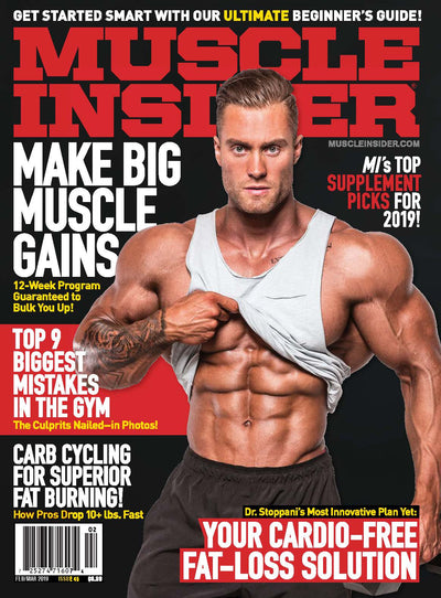 Iso-Bar Featured in Muscle Insider Magazine.