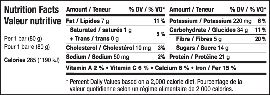Yummy Yogurt Nutritional Information