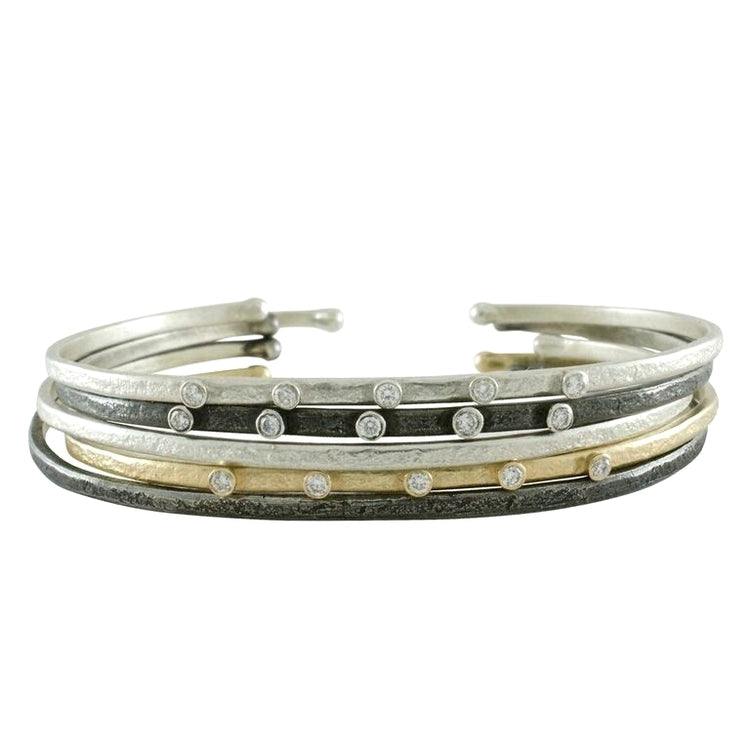 Weathered Stacking Cuff | Art + Soul Gallery